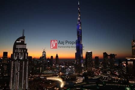 2 Bedroom Flat for Rent in Downtown Dubai, Dubai - Full Burj LED & Fountain View  | Address Luxury Serviced APT