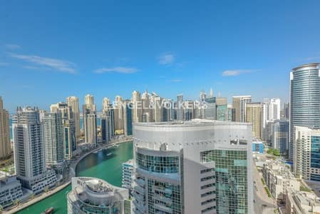 3 Bedroom Apartment for Rent in Dubai Marina, Dubai - Exclusive | Vacant | Marina View | Bright