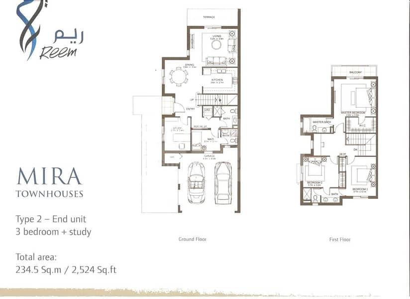 10 Large Corner Plot | 3 BR Plus M and Study