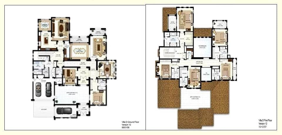 10 Exclusive 5BR   Golf Homes  Shell and Core