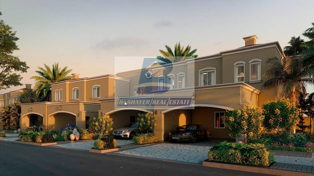 2 AMAZING VILLA in DUBAI LAND/5% Booking / 75% POST HAND OVER for 5 Years / 4% DLD WAIVED