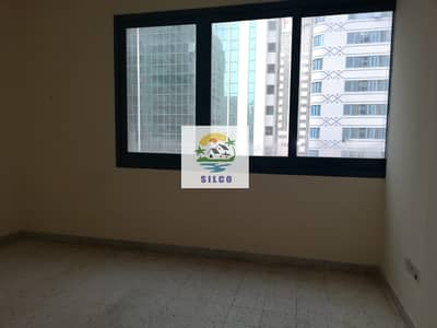 1 Bedroom Apartment for Rent in Electra Street, Abu Dhabi - 1 B/R FLAT WITH CENTRAL A/C  NEAR ABU DHABI MALL