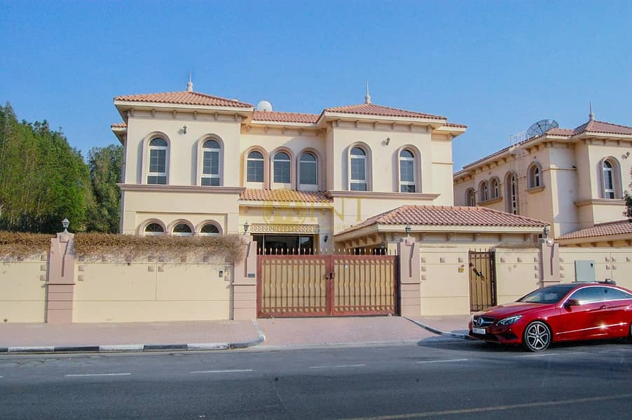 Well Maintained  6BR  Villa  | Maid Room | Best Price !