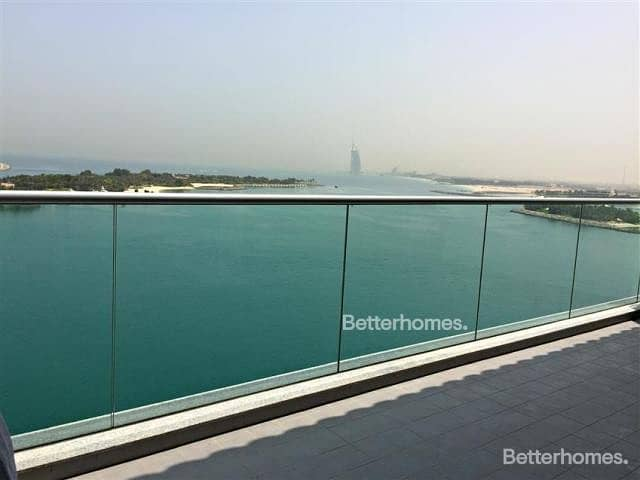 2 Beach and Burj View | Mid Floor | Rented