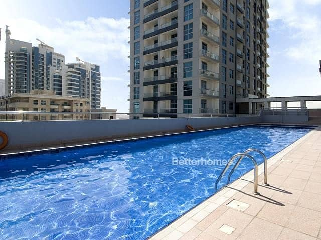11 2 bed | marina view | Rented | Spacious