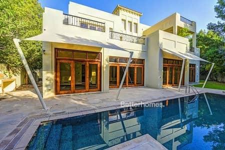 فیلا 7 غرفة نوم للبيع في البراري، دبي - 7 Bed Type B2 Villa in Bromelia Al Barari with Pool