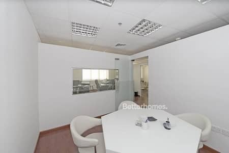 Office for Sale in Motor City, Dubai - Tenanted | Fitted Partitioned | Reduced Price