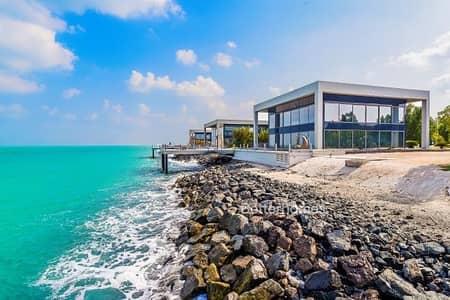 فیلا 4 غرفة نوم للبيع في جزيرة نوراي، أبوظبي - HOT PRICE I Exclusive Delux 4BR Water Villa