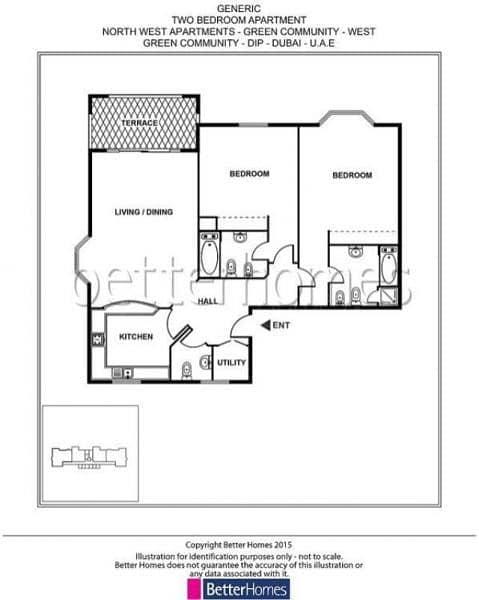 12 2 Bedroom | Pool View | Storage |Parking