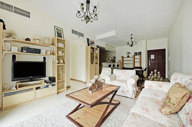 Furnished 2 Bedroom with balcony in Marina Diamond