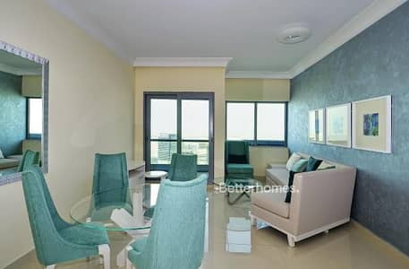 1 Bedroom Apartment for Rent in Downtown Dubai, Dubai - Vacant   Furnished   High Floor   Creek view