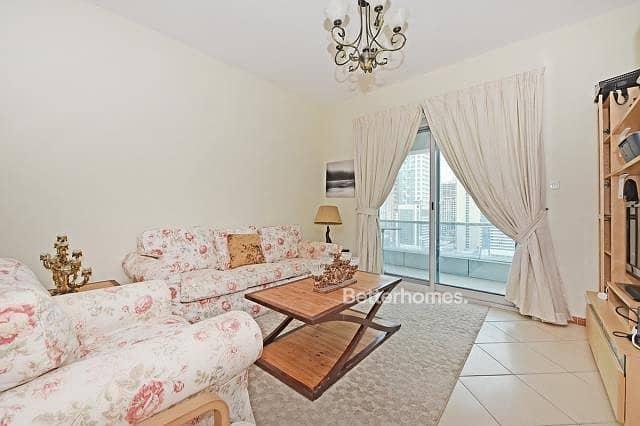 2 Furnished 2 Bedroom with balcony in Marina Diamond