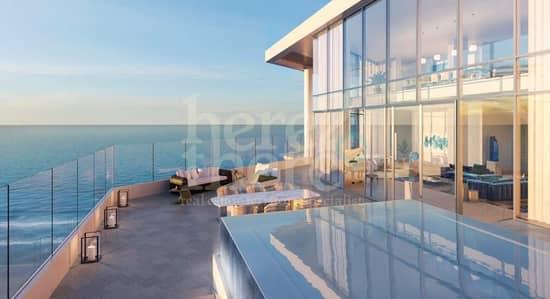 3 Bedroom Apartment for Sale in Saadiyat Island, Abu Dhabi - Masterpiece and Spacious 3br Apartment in Mamsha Saadiyat with Seaview