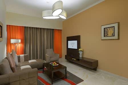 2 Bedroom Hotel Apartment for Rent in Dubai Production City (IMPZ), Dubai - Sitting Room