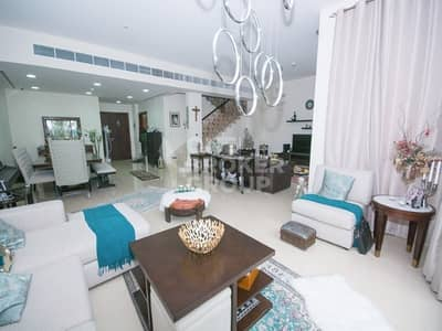 4 Bedroom Townhouse for Sale in Jumeirah Islands, Dubai - 4BR TH| POOL & GARDEN VIEW | CORNER UNIT