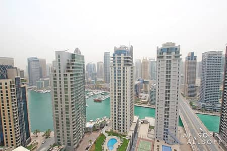 شقة 2 غرفة نوم للبيع في مساكن شاطئ جميرا (JBR)، دبي - Marina View | Vacant On Transfer | 2 Bed