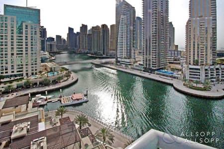 شقة 2 غرفة نوم للبيع في دبي مارينا، دبي - Marina Views | Spacious Terrace | Vacant