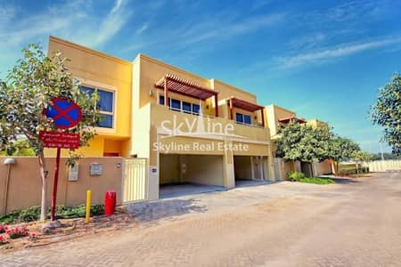 4 Bedroom Townhouse for Sale in Al Raha Gardens, Abu Dhabi - Luxurious 4BR + maids Townhouse Type S.