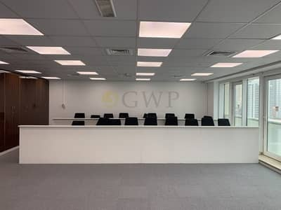 Office for Rent in Jumeirah Lake Towers (JLT), Dubai - Fully Fitted Partations Canal & Szr View