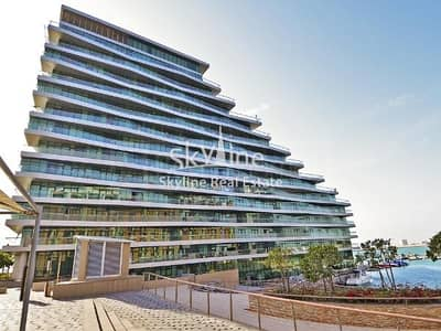2 Bedroom Apartment for Sale in Al Raha Beach, Abu Dhabi - Hot deal! Marina view 2BR Apt with balcony