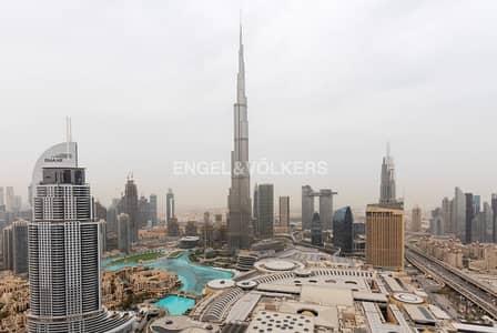 شقة فندقية 2 غرفة نوم للايجار في وسط مدينة دبي، دبي - Full Fountain| Fully Serviced| High Floor