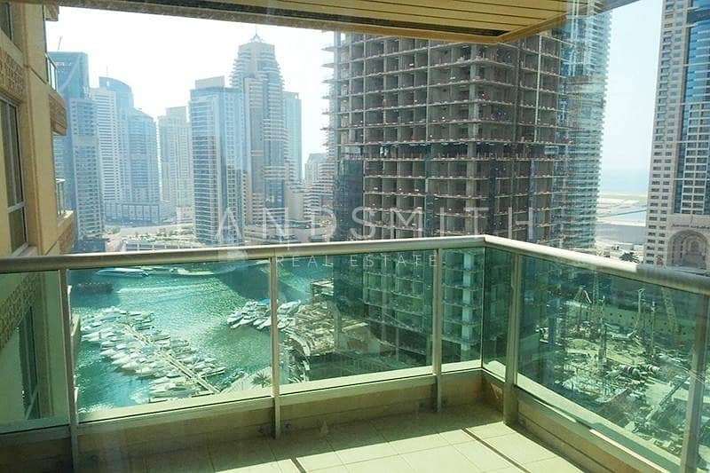 Nice Marina View 3 Bedroom in Al MASS Tower