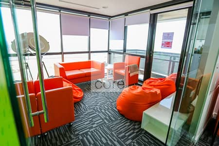 Office for Sale in Jumeirah Lake Towers (JLT), Dubai - Fitted and Furnished Office | Mid Floor