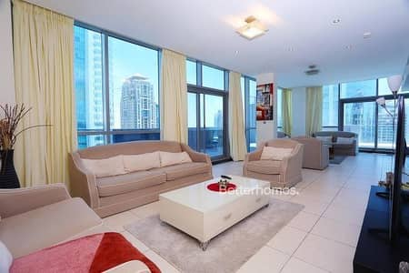 4 Bedroom Flat for Sale in Jumeirah Lake Towers (JLT), Dubai - Duplex Penthouse  |  4 Bed + maid  l JLT