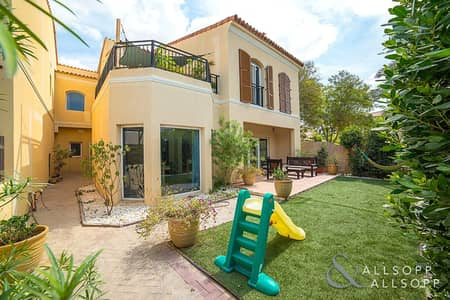 3 Bedroom Townhouse for Sale in Green Community, Dubai - New Listing   Close to Main Park   End Unit
