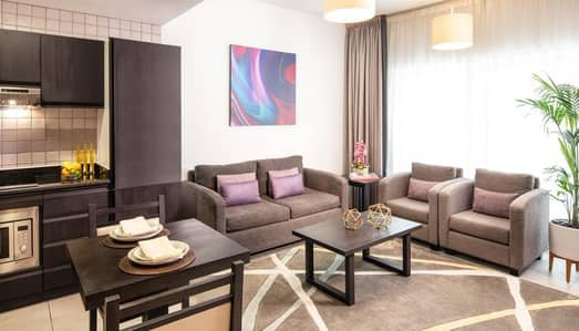1 Bedroom Flat for Rent in Barsha Heights (Tecom), Dubai - Room Kitchen