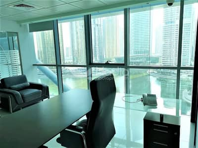 Office for Sale in Jumeirah Lake Towers (JLT), Dubai - Furnished & Fitted Office in Indigo Icon | JLT for Sale