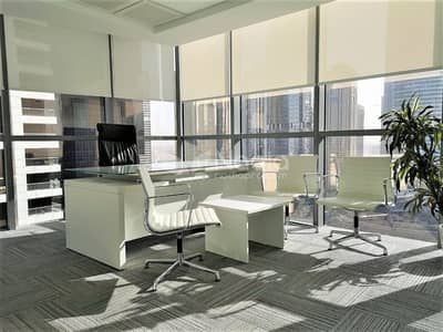 Office for Sale in Jumeirah Lake Towers (JLT), Dubai - Semi-Furnished Fitted Office | Lake View | Indigo Icon