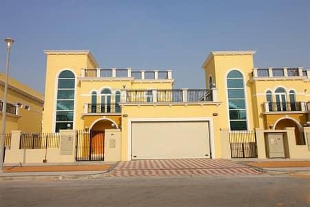 4 Bedroom Villa for Rent in Jumeirah Park, Dubai - 4 BR Legacy Nova Single Row   Vacant   Over Looking Meadows
