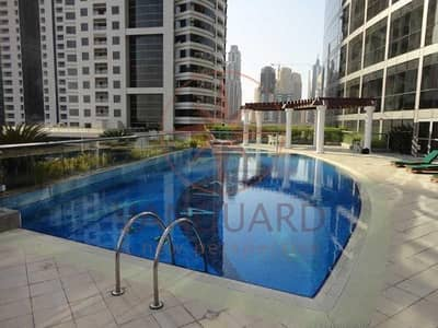 2 Bedroom Apartment for Sale in Jumeirah Lake Towers (JLT), Dubai - Spacious 2 Bed on High Floor for sale in 'MAG 214'