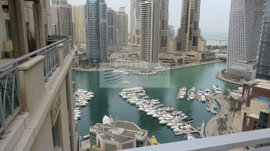 3 Bedroom Apartment for Rent in Dubai Marina, Dubai - Penthouse Duplex 3BR with Large Terrace