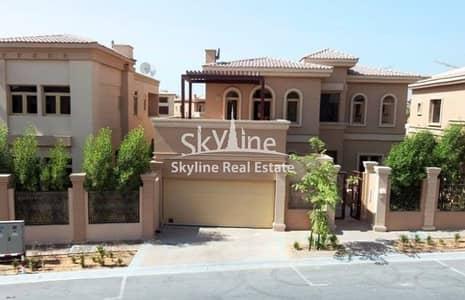 4 Bedroom Villa for Sale in Al Raha Golf Gardens, Abu Dhabi - Big Plot Villa w/ Pvt Pool + Garden area