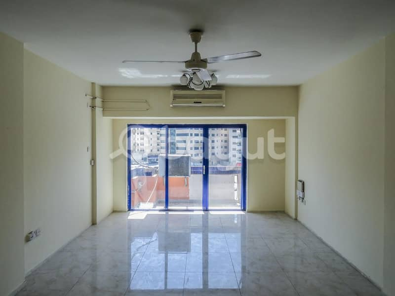 AL SOOR 2 BHK Spacious rooms with good natural lighting one month free