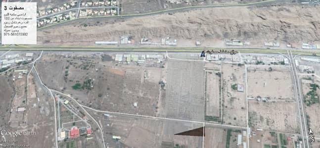 ارض سكنية  للبيع في مصفوت، عجمان - عرض رمضان اراضى سكنيه للبيع بمصفوت تصريح ارضى وطابق