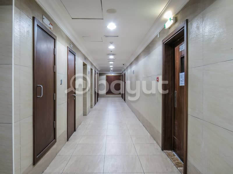 1 BHK in Barsha Heights Near to Metro Station.
