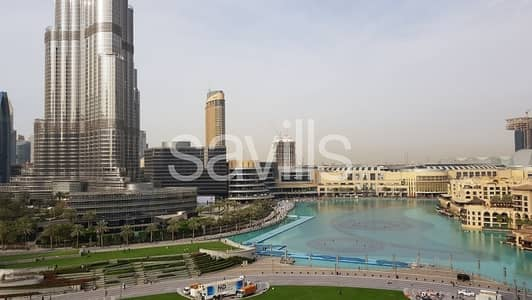 3 Bedroom Flat for Sale in Downtown Dubai, Dubai - Unobstructed Burj Khalifa and Fountain View | 3 BR
