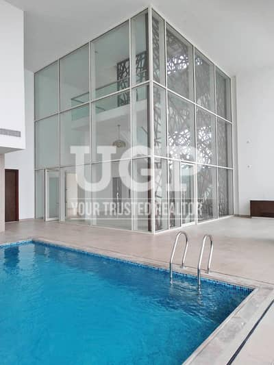 5 Bedroom Penthouse for Rent in Al Reem Island, Abu Dhabi - Vacant 5BR w/ Private Pool and Balconies