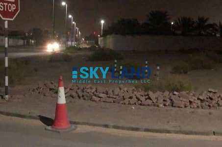 Plot for Sale in Shakhbout City (Khalifa City B), Abu Dhabi - Corner Residential Plot in Shahbout City