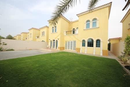 3 Bedroom Villa for Rent in Jumeirah Park, Dubai - District 8 lovely 3 BR plus maids in Jumeirah park
