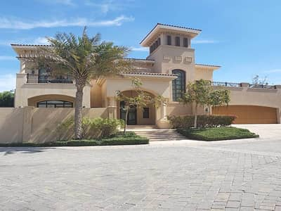 5 Bedroom Villa for Rent in Saadiyat Island, Abu Dhabi - Direct Beach Access Fully Furnished 5BR Villa w/ SeaView and Pool