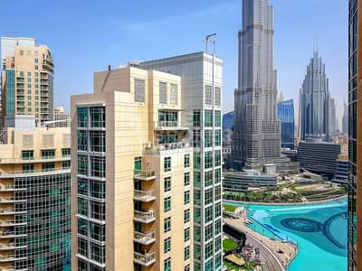 2 Bedroom Flat for Rent in Downtown Dubai, Dubai - Furnished 2BR |High Floor| Fountain View