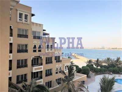 1 Bedroom Flat for Rent in Al Marjan Island, Ras Al Khaimah - Partial Sea View | Unfurnished | 1 BR | Fayrouz | BAB