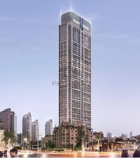 Last Tower With Burj Khalifa View In Downtown   EMAAR