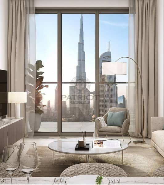 2 Last Tower With Burj Khalifa View In Downtown   EMAAR