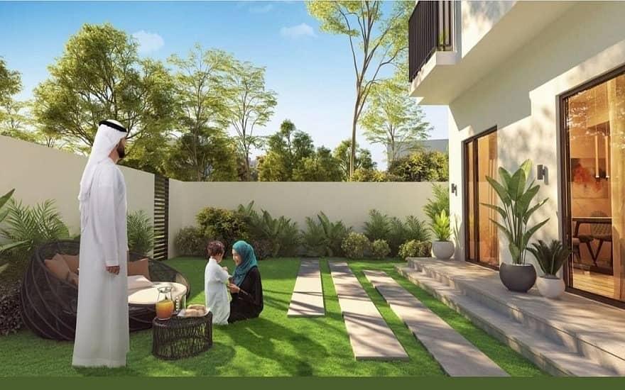 تملك واستثمر باكبر مشروع لاول مرة بامارة الشارقة فلل تاون هاوس ( 2 و 3 غرف ) الجادة بالاقساط الميسرة