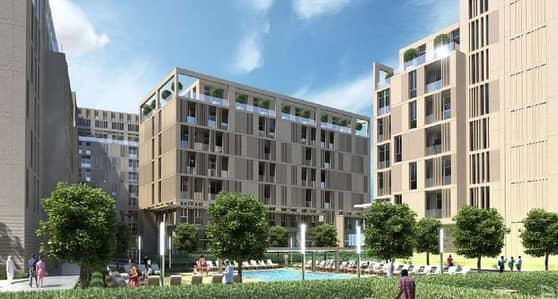 استوديو  للبيع في المدينة الجامعية بالشارقة، الشارقة - تملك واستثمر باروع مشروعات امارة الشارقة الممشي ( ستي ووك الشارقة ) بدا من325. 000 درهم